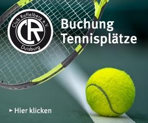 Buchung Tennisplätze